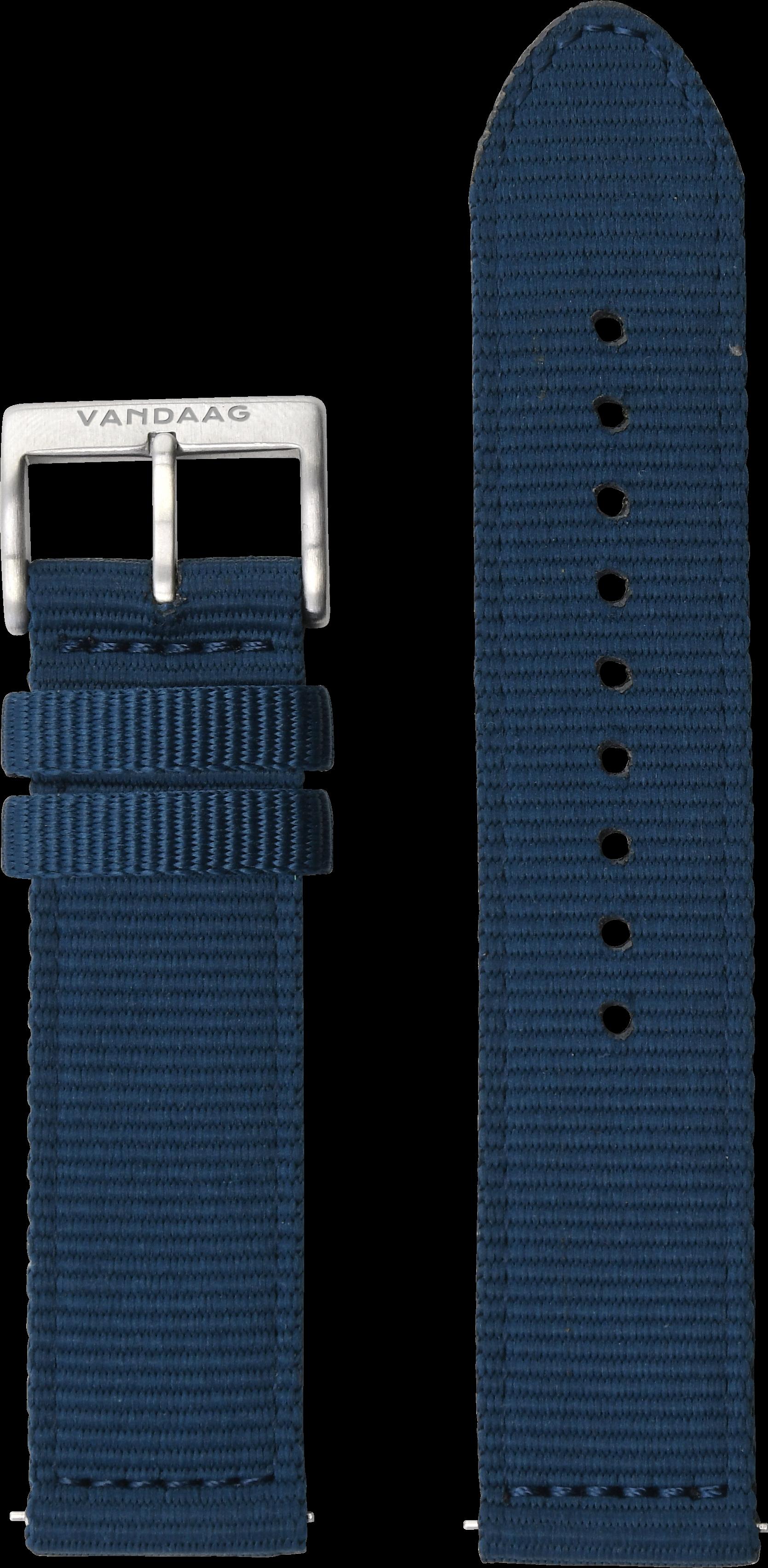 Nylonband 22mm, blau