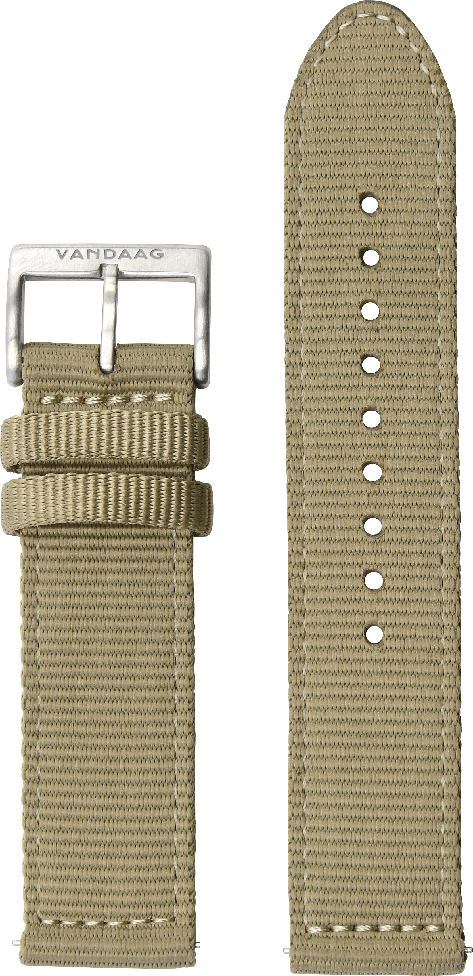 Nylonband 22mm, beige