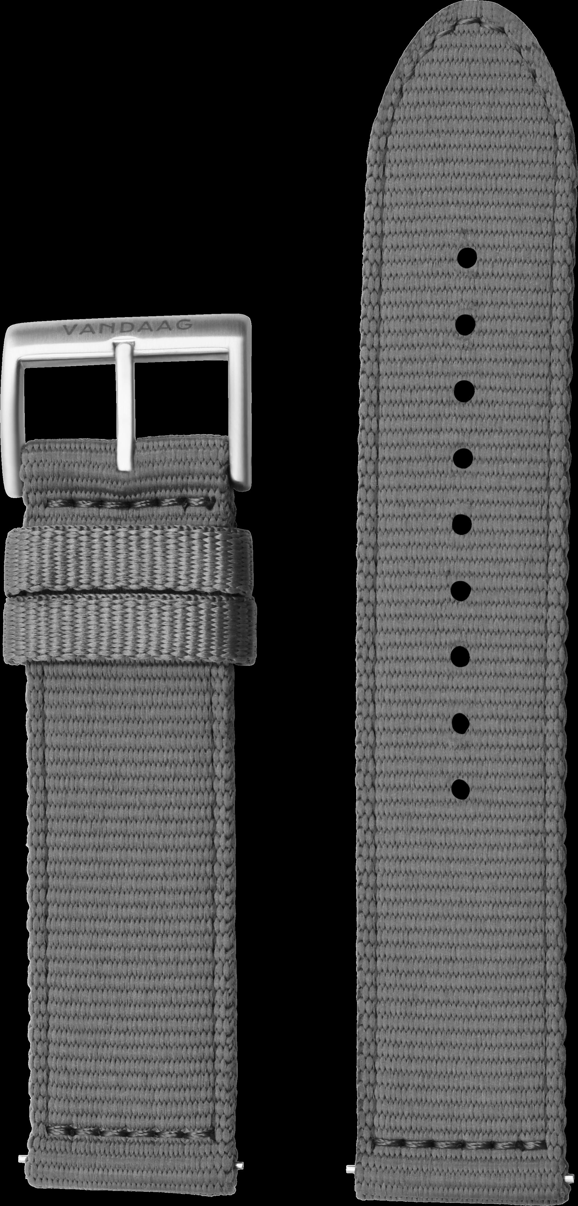 Nylonband 22mm, grau