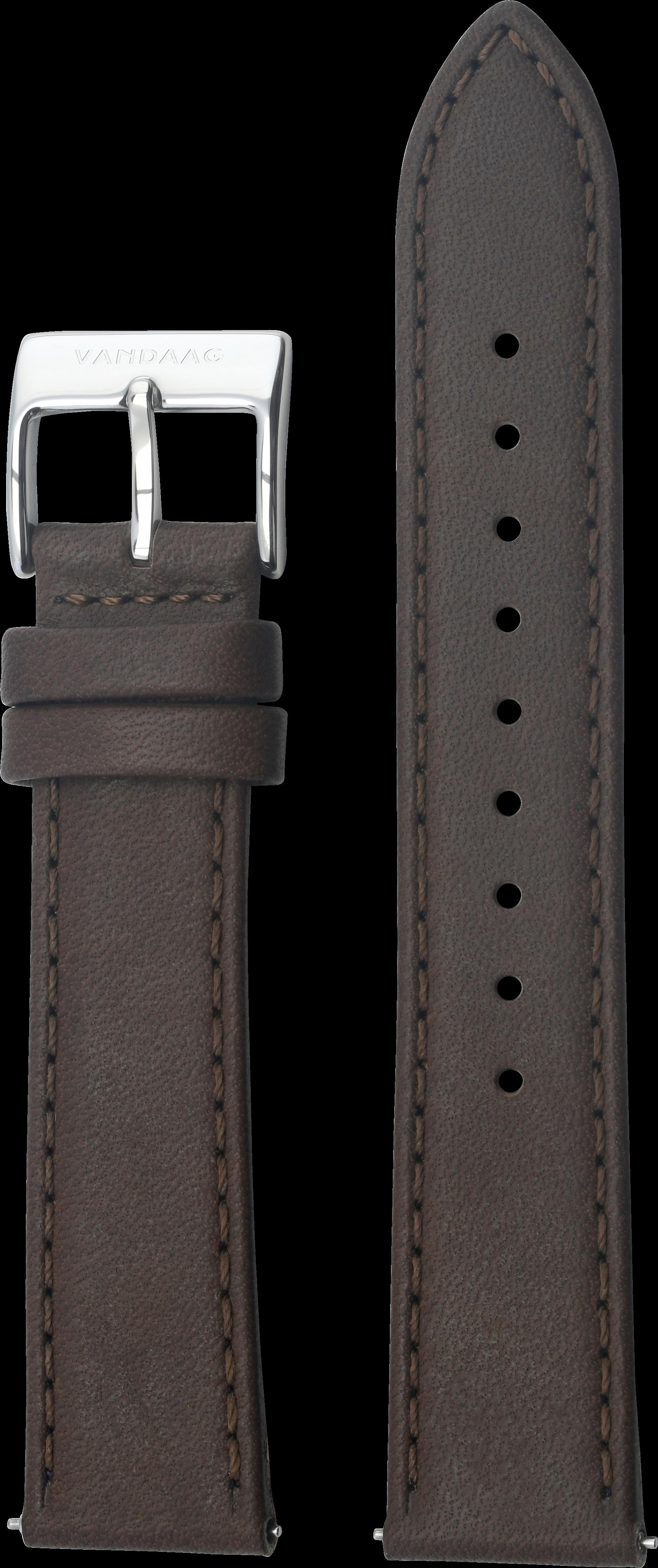 Lederband 20mm, dunkelbraun
